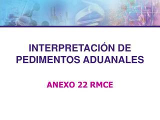 ANEXO 22 RMCE