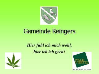 Gemeinde Reingers