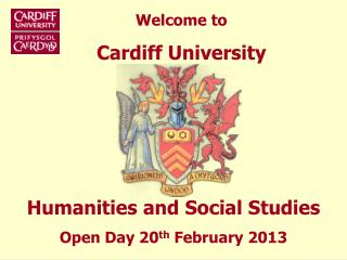 Welcome to Cardiff University