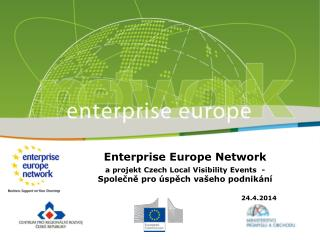Enterprise Europe Network a projekt Czech Local Visibility Events  -