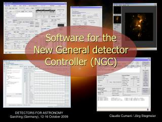 Software for the  New General detector Controller (NGC)