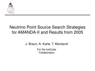 Neutrino Point Source Search Strategies for AMANDA-II and Results from 2005