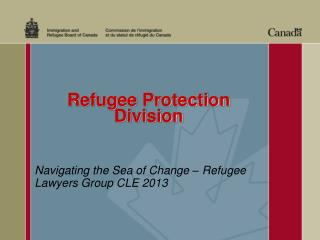 Refugee Protection  Division