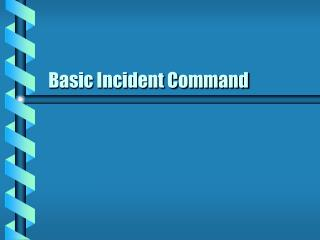 Basic Incident Command