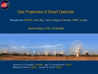 Gas Properties of Dwarf Galaxies