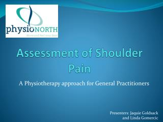 Assessment of Shoulder Pain