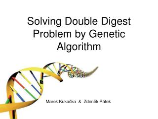 Solving Double Digest Problem by Genetic Algorithm