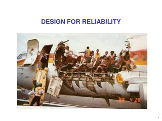 DESIGN FOR RELIABILITY