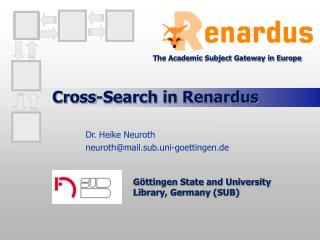 Cross-Search in Renardus