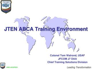 JTEN ABCA Training Environment