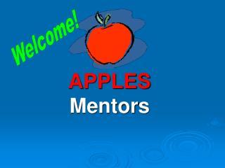 APPLES Mentors