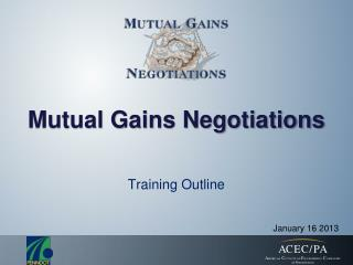 Mutual Gains Negotiations