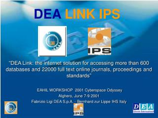 DEA LINK IPS