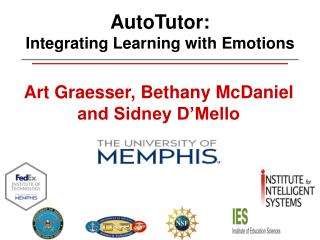AutoTutor:  Integrating Learning with Emotions