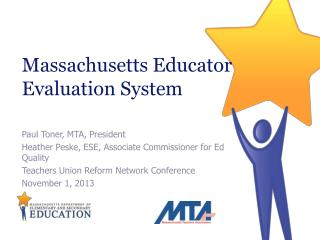 Massachusetts Educator Evaluation System