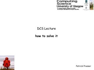 DCS Lecture how to solve it