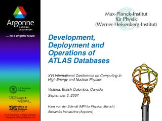 Development, Deployment and Operations of ATLAS Databases