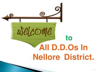 All D.D.Os In  Nellore  District.