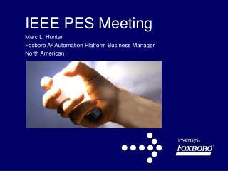 IEEE PES Meeting