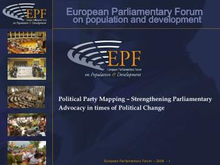 European Parliamentary Forum