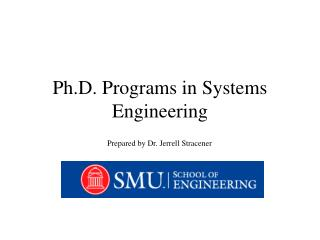 Ph.D. Programs in Systems Engineering