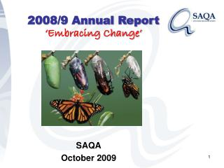 2008/9 Annual Report 'Embracing Change'