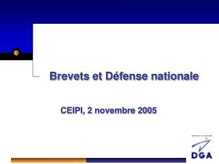 Brevets et Défense nationale