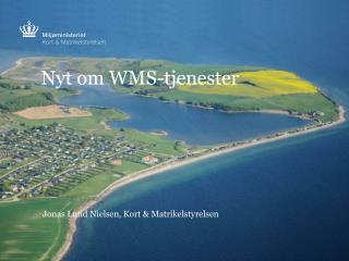 Nyt om WMS-tjenester