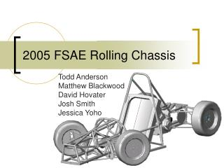 2005 FSAE Rolling Chassis