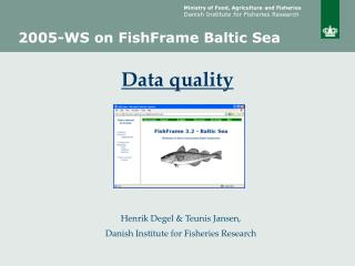 2005-WS on FishFrame Baltic Sea