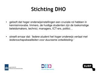 Stichting DHO