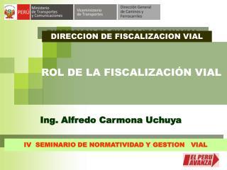DIRECCION DE FISCALIZACION VIAL