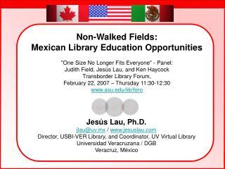 Jesús Lau, Ph.D. jlau@uv.mx  /  jesuslau