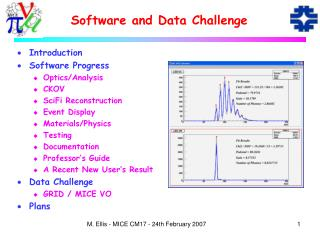 Software and Data Challenge