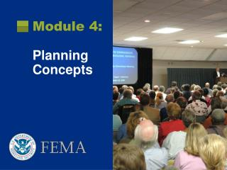 Module 4:  Planning Concepts