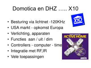 Domotica en DHZ ….. X10