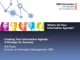Creating Your Information Agenda:  A Strategy for Success