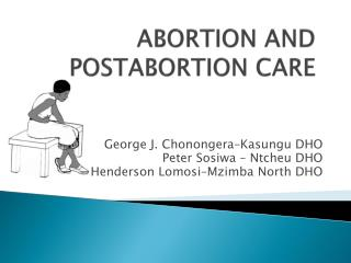 ABORTION AND POSTABORTION CARE
