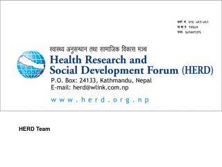 HERD Team