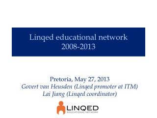 Linqed educational network 2008-2013