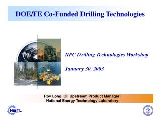 DOE/FE Co-Funded Drilling Technologies