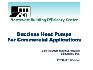 Ductless Heat Pumps For Commercial Applications