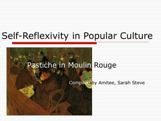 Self-Reflexivity in Popular Culture