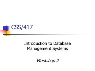 CSS/417