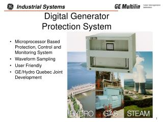 Digital Generator  Protection System