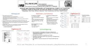 CAMPUS INNENSTADT DR. VON HAUNERSCHES KINDERSPITAL DIREKTOR: PROF. DR. MED. DR. H.C. D. REINHARDT