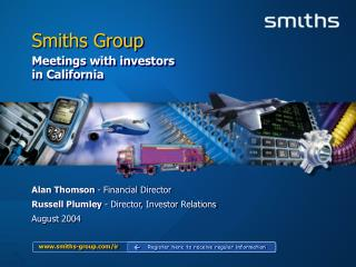 smiths-group/ir