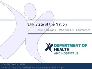 EHR State of the Nation