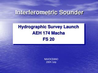 Interferometric Sounder