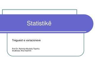 Statistikë